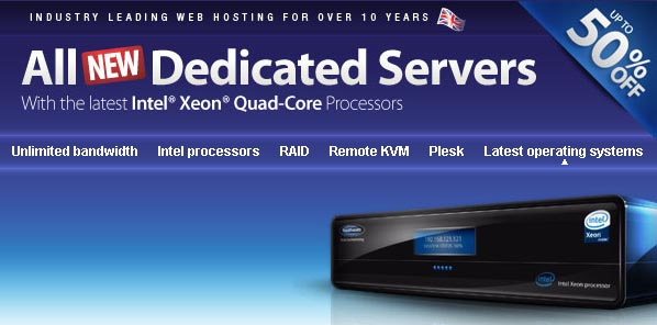 Fasthosts Unveils All New Dedicated Servers