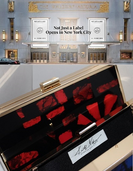 New York City has big news. NOT JUST A LABEL (NJAL) is opening it's first NYC store at the iconic Waldorf Astoria which will feature prominent New York Based brands