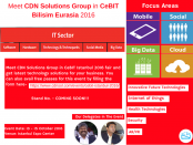 IT Solutions in CeBIT Istanbul 2016