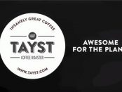 Eco-friendly Tayst coffee, compostable coffee