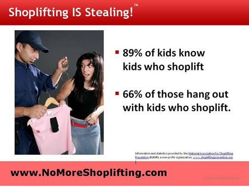 effects of shoplifting essay