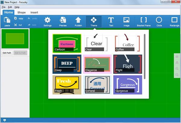 focusky free online presentation maker now offers cloud based service