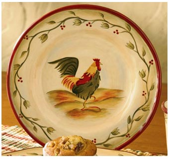 Rooster Plates Wall Decor Home Decorating Ideas & Rooster Plates Wall Decor - Home Decorating Ideas