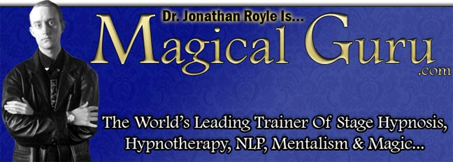 Top British Hypnosis & NLP Trainer Jonathan Royle Exposes The Hypnotherapy Conmen