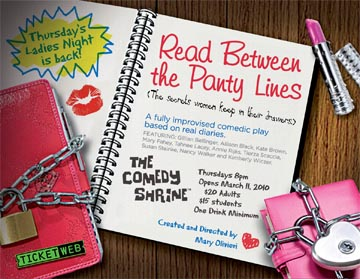 Histrionics, Hysterectomies And Hilarity - The NEW Comedy Shrine Ladies Night Show Delivers It All!