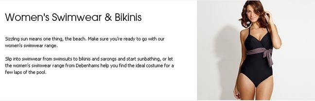 Debenhams Reveals The Great Bikini Cover-Up Contradiction