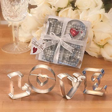 LOVE Cookie Cutters Spread the Sweetness