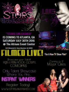 Register Today at www.starsunleashed.com