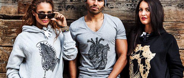 Duodulondon Unique Urban organic T-shirts in London