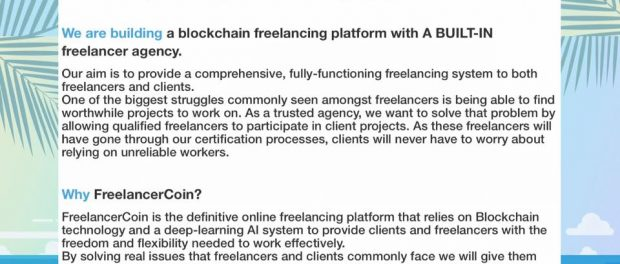 FreelancerCoin Featured Image