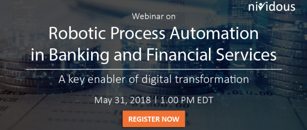 Webinar on RPA in Banking and Financial Services