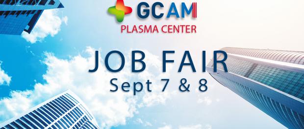 GCAM Hosts Career Fair for New Plasma Center in Brownsville, TX