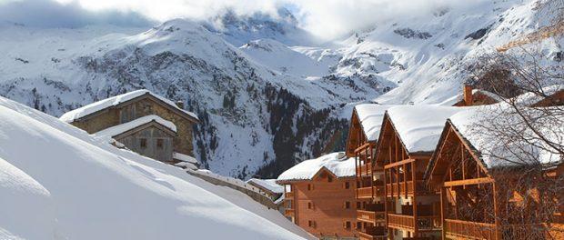 catered ski chalet