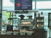 First Airport Honesty Shop, Canada