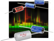 New Yorker Electronics is distributing the new Electrocube Audio-Optimized Film Capacitors for high-end audio applications in both the 916D Series of Metallized Polypropylene Capacitors and the 967D Polypropylene and Foil Audio Capacitors.