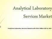 Analytical Laboratory Services Market