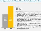Collagen & Gelatin Market for Regenerative Medicine