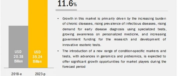 COVID-19 impact on the Esoteric Testing Market