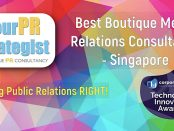 "yourPRstrategist is named ""Best Boutique Media Relations Consultancy - SG"" in Technology Innovator Awards (UK)"