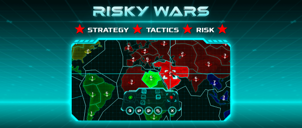 Risky Wars - Strategy Game