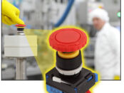 Easily Installed Excel Cell Emergency Switches Available in 22mm, O25mm and O30mm Mounting Diameters