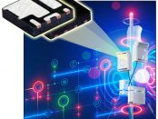 New SiZF300DT 30V MOSFET Half-Bridge Power Stage with Integrated Schottky Diode Delivers 11% Higher Output Current than Other Solutions