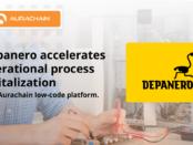 Depanero accelerates operational process digitalization with the Aurachain low-code platform