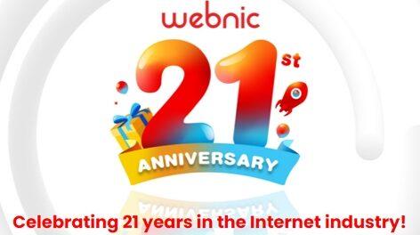 WebNIC 21st Anniversary