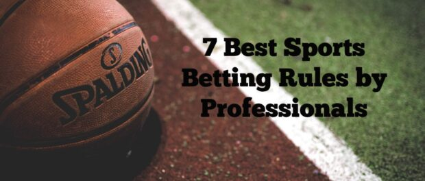 sports betting rules