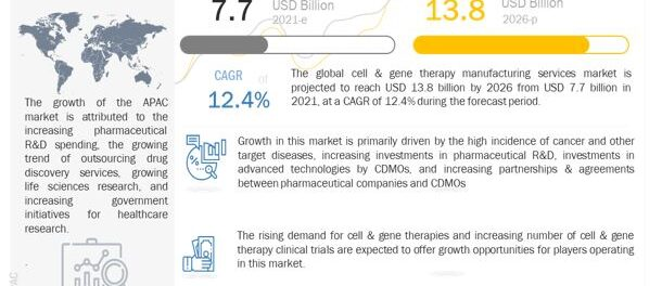 Cell & Gene Therapy Manufacturing Services Market