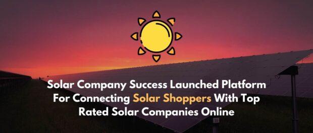 solar company success