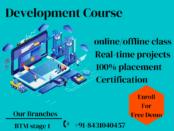 best front-end developer online course in Bangalore