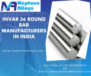 Invar 36 Round Bar